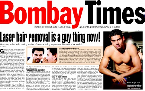 Laser hair removal is a guy thing now! – Bombay Times