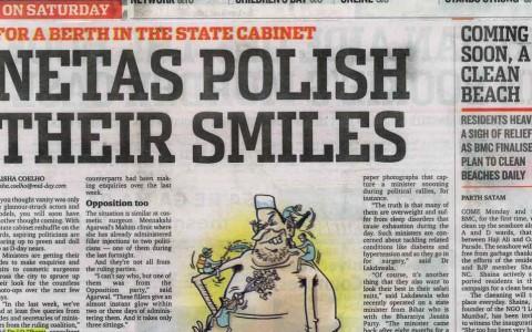Netas polish their smiles